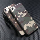 New Cool Army Camo ArmyGreen Soft TPU Case Cover For Apple iPhone 8 Plus X 6S 7