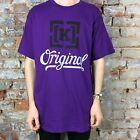 Krew Original Printed Short Sleeve T-Shirt New in Purple - Size: L