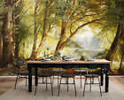 Timeless Calm Wood 3D Full Wall Mural Photo Wallpaper Printing Home Kids Decor
