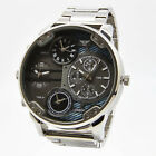 Mens Mr Daddy Wrist Watch Big Multi Time 4 Zoon Oversized Chronograph