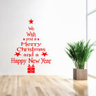 Removable 3d Wall Sticker Christmas Tree Window Vinyl For Party Home Wall Decal