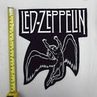 X-Large LED ZEPPELIN WINGED ANGEL ROCK METAL MUSIC SEW IRON ON ICARUS PATCH