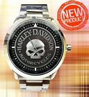 New Hot !! Herley Davidson Skull Watches