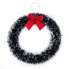 Christmas Decoration Pine Garland Wreath Door Window Wreath With Red Bow