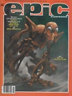 Epic Illustrated,#30, June 1985, Cobalt 60 Mark Bode , F/VF, Free shipping