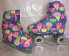 Ice Cream  Boot Covers for RollerSkates and Ice Skates  S,M,L
