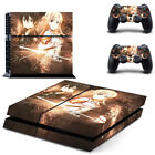 Decal PS4 Skin Sticker for Playstatiion 4 Console System & Two Controllers