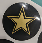 """Rockstar Style Wheel Center Cap 3.5"""" Overlay Decals Choose UR Colors 5 in a SET"""