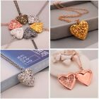 Love Heart Secret Message Locket Necklase Vintage Gift For Lovers Cheap and Styl