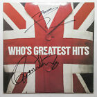 Roger Daltrey Pete Townshend Signed The Who Greatest Hits Album EXACT Proof JSA