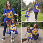 Autumn Family Clothes Lady Mother Daughter Matching Dress Baby Girl Dress Outfit