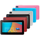 "9"" inch Google Android A33 Quad Core 512+ 8GB Dual Camera Tablet PC Black XMAS"