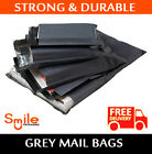 500 Pack All Sizes Grey Mailing Bags Postal Post 60MU 6x9 9x12 10x14 12x16 17x24