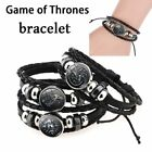 Game of Thrones Bracelet Wristband 26cm Multi-layer Leather Unisex Band Gift
