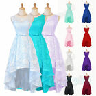 New Short Lace Chiffon Bridesmaid Formal Ball Party Cocktail Evening Prom Dress
