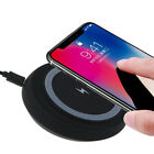QI Wireless Charger Charging Pad Mat Receiver For Apple iPhone X/8/8 Plus Galaxy
