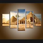 Large Contemporary Wall Art Egyptian pyramid Landscape Painting Printed Canvas