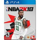 NBA 2K18 Playstation 4 PS4 Kyrie Irving Boston Cover