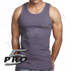 Pro 5 Brand Premium Cotton A-shirts Undershirt Wife Beater Tank Top 3-Pack