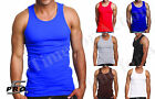 premium tanks - 3-Pack Top Quality Premium Cotton A-shirts Undershirt Wife Beater Tank Top