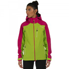 Dare2b Veracity Womens Waterproof Breathable Hooded Jacket Lime Pink