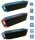 Musikbox Bluetooth Lautsprecher Wireless MP3 Sound Box SD USB AUX Radio Player