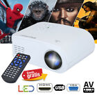 Mini Home Projector 1080P HD 3D LED Cinema Theater USB/VGA/HDMI SD AV for Phone