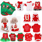 Pet Warm Winter Sweater Christmas Apparel Dog Cat Jacket Coat Puppy Clothes NEW