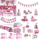 Unicorn Party Decor Disposable Tableware Birthday Gift Baby Shower Bag Fillers