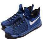 Nike Zoom KD 9 EP IX Kevin Durant Blue Black Men Basketball Shoes 844382-410