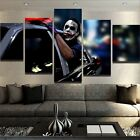 Oil Painting HD Canvas Print/Home Decoration JOKER FREEDOM 5 PIECE CANVAS SET