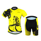 Sports Wear Cycling Jersey Set Men Bike Bicycle Clothing Short Sleeve Outdoor