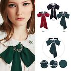Business Women Bow Tie Chain Choker Statement Chunky Collar Pendant Necklace Hot