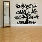 Wall Vinyl Sticker Decal Mural Room Design Art Tree People On The Branch bo2288