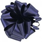 Offray Double-Face Satin Ribbon 15mm wide - Navy, Reel of 18m. Brand New