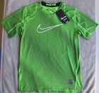 New Boys Nike Pro Fitted Training Shirt 849470-313 Sizes XL AND L New With Tags