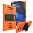 For Samsung Galaxy Tab E 9.6 T560 Shockproof Hybrid Rubber Hard Stand Case Cover