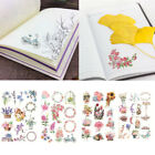A Daily Something Style Transparent Diary Decor Sticker Labels Scrapbook Journal