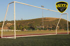 G3Elite Pro 21x7 Soccer Goal, Weather Coated With 3.5mm Net, 7