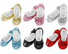 Snoozies! Ballerina Bling Slippers Kids 1-2 Festive Christmas Present