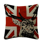 Union Jack British Flag Chenille Cushion Covers Fashion Pillow Case 45X45cm LS