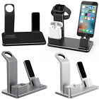 Metal Alloy Charging Stand Dock Station Charger for Apple iWatch Airpods iPhone