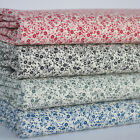 Mini Daisy100% cotton poplin fabric sold per half metre/ fat quarter