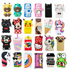 3D Cartoon Silicone Rubber Soft Cute Case Cover Skin for iPhone 5/6G/S 7G Plus