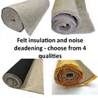 Car Underfelt Soundproofing Acoustic Felt Sound Deadening Underlay Insulation