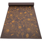 """Peace Yoga 6mm 1/4"""" Inch Thick Premium Printed PVC Yoga Mat for Fitness Exercise"""