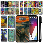 For LG V20 VS995 H990 LS997 H910 H918 US996 Black TPU SILICONE Case Cover + Pen