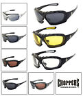 Внешний вид - Choppers 919 Padded Foam Wind Resistant Sunglasses Motorcycle Glasses UV Protect