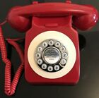 Vintage Style Red/Black/Blue/Cream Retro Telephone by Benross Brand New