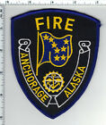 Anchorage Fire Department (Alaska) Shoulder Patch - was a wall display - new